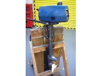 MARINER 2B 2hp OUTBOARD ENGINE, TILLER CONTROL, MANUAL START