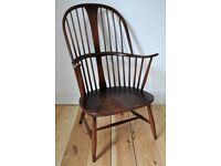 Vintage Retro 60's Ercol Windsor Chairmakers Fireside Armchair (model 473)