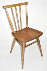 Vintage Retro 60's Ercol Windsor Stick Back Chair model 391 - As New - Fully Renovated