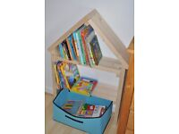 Bookcase, bookshelves for kids, wood shelving