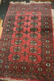 Hand Knotted 100 Wool Pakistan Bokhara Rug In Chandlers Ford