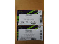 2 X STEREOPHONICS TICKETS