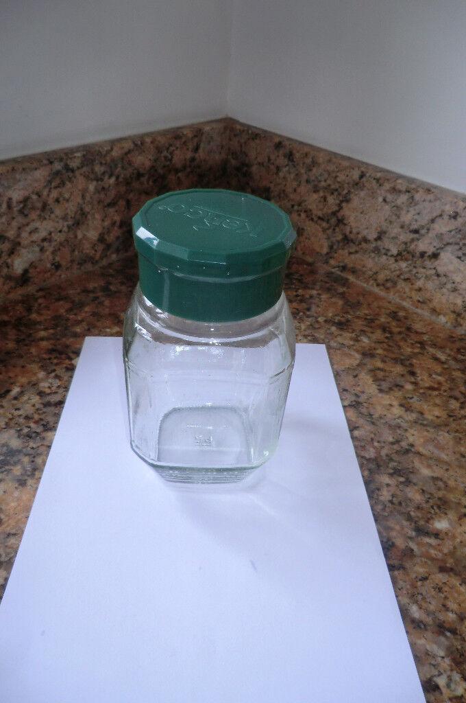 Glass Storage Jar With Lid U2013 Kenco Coffee 200g U2013 (10 Available)