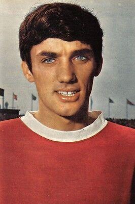 Football Photo GEORGE BEST Man Utd 1960s