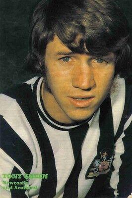 Football Photo>TONY GREEN Newcastle United 1970s