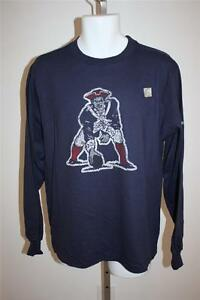 NEW New England PATRIOTS Mens XXLarge 2XL Reebok Long Sleeve Shirt 16TB