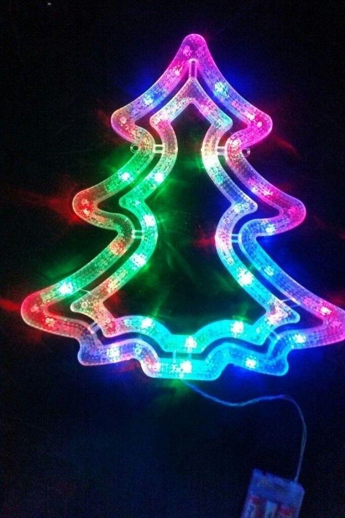 Tree Christmas Led Light Decoration & Trees Xmas Remote ...