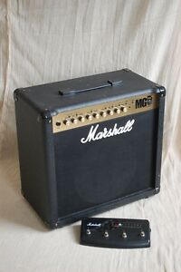 Marshall Amp and foot switch