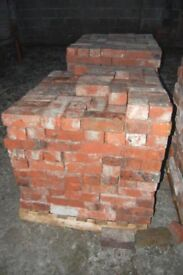 Reclaimed Ruabon Red Bricks Imperial size