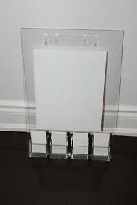"12""x 18"" acrylic business card sign holders or acrylic displays"