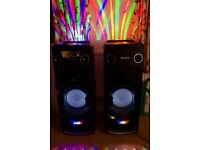 two SONY MHC-V7D 1440w RMS power!!!