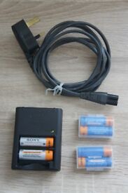 Official Sony Battery Charger pack set