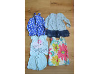 12-18 months Girl's, bundle THREE 3 dresses, 7 tops, 1 jumper, 2 leggings, 1 jeans, 1 hat £35