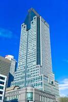 Situé au Cœur du centre-ville de Montréal