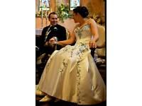 Alfred Angelo designer wedding dress, 12.