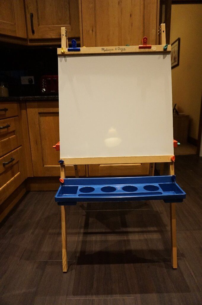 Melissa And Doug Wooden Standing Art Easel In Prestwick South Ayrshire Gumtree