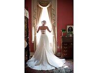 Size8, Ivory, Essence of Australia wedding dress, includes dress bag and veil!!