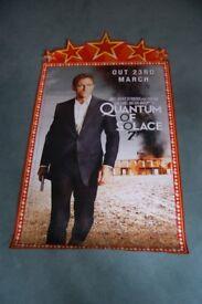 quantum of solace ' original blockbuster poster