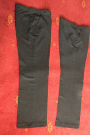 Boys Charcoal School Trousers Age 13-14 Very good condition