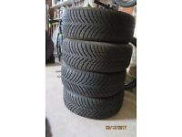Winter Tyres BMW 1 or 3 Series Run Flats