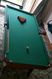6 ft Snooker/pool table