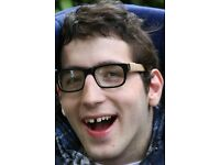 PA/Carer - term time only, 1 full day a week - for young man with cerebral palsy