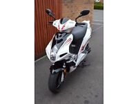 AJS Firefox 49cc moped - excellent condition less than 2 years old