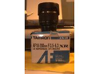 Tamron AF18-200mm F/3.5-6.3 XR