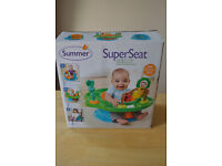 Baby Seat with Activity Tray - Super Seat - new