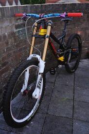 Specialized S-Works Carbon Troy Lee Designs Demo 8 Custom Build Downhill Bike