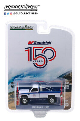 Greenlight 1:64 Anniversary Series 10 1985 GMC K-2500 BFGoodrich 150 -