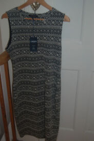 Marks&Spencer Limited edition calf length sleeveless dress tags still on size 14