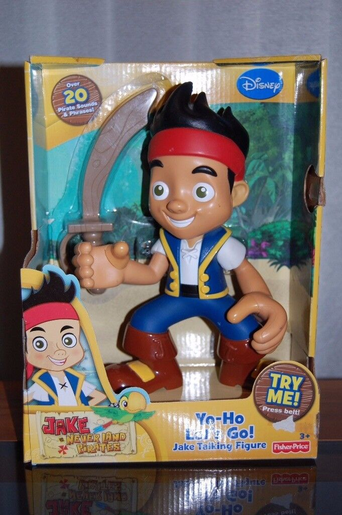 Talking Jake the Pirate - used but like new