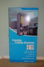 Fabric Covered Camping Wardrobe
