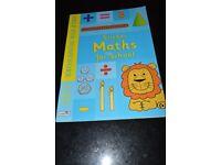 Sticker Maths for Children Activity Book