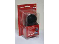 Canon Video Camera 0.7x 27mm Wide Converter WD-H27