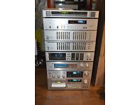 Vintage 80s Pioneer Seperates Amp, Reverb Pre-Amp, 2 x Graphic Equalizer, 2 x Tuner, 2 x Tape Decks