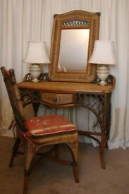 Vintage Dressing Table / Chair / Mirror Set (Barker and Stonehouse)