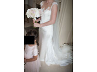 Pronovias Gown PRESEA Wedding Dress - Size 10