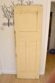 Original 1930s four panel internal doors 61cm (W) x 183cm (H)