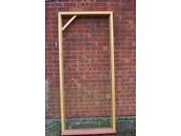 WOOD DOOR FRAME TO SUIT OPENING OUT DOOR