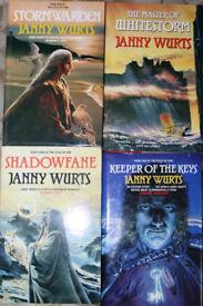 Janny Wurts hardback books
