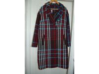 MARKS AND SPENCER LINED COAT SIZE 20
