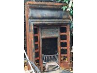 WANTED. A CAST IRON MANTEL SHELF FOR AN 1880'S COMBINATION FIREPLACE.
