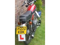 Honda CG125 Classic Red 2002 Good Condition