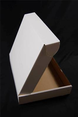 300 White Postal Cardboard Boxes Mailing Shipping Cartons Small Size Parcel OP3