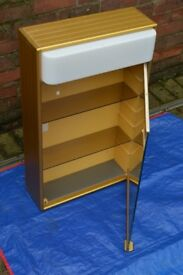 Gold Retro Bathroom Cabinet
