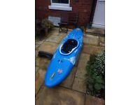 Pyranha Everest whitewater kayak in very good condition