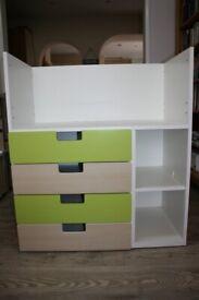 IKEA STUVA Desk with 4 drawers