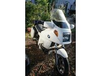 BMW K75rt with full luggage, MOT till May 2018, 53000 miles
